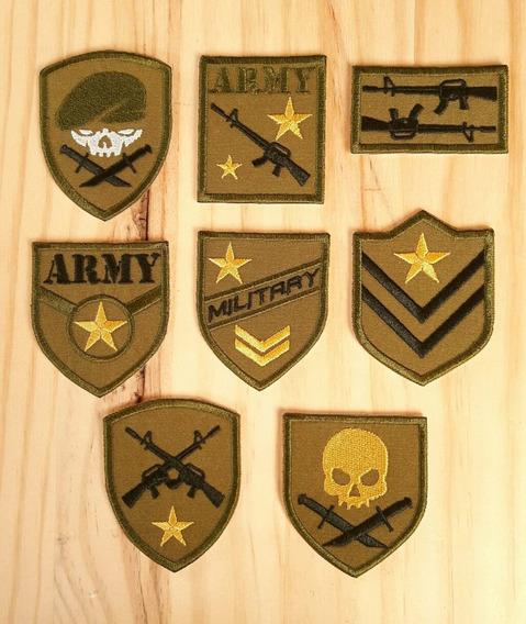 Parches Bordados Militares