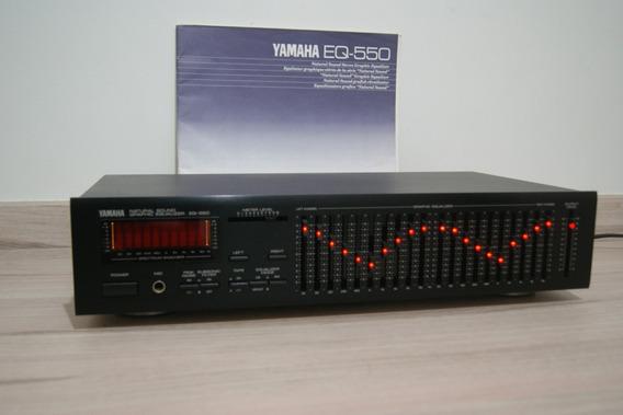 Equalizador Yamaha Eq-550 Impecável Com Manual Original.