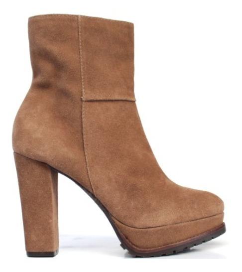 Bota Feminina Tratorada Block Heel Salto Bloco Quadra 57021