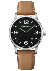 Relógio De Pulso Suíço Wenger Urban Classic 42mm 01.1741.117