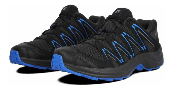 Zapatillas Salomon Kuban M 410346 Outdoor Negro Dep