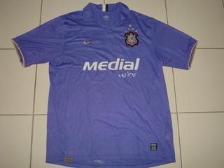Corinthians 2008 Nike Third Tamanho Gg Número 10 Bom Estado