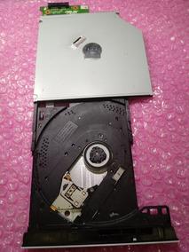 Dvd-rom Do Notebook Asus Z550s Branco Com Placa De Conexão.