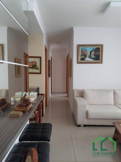 Apartamento Com 3 Dormitórios À Venda, 84 M² Por R$ 550.000,00 - Vila Brandina - Campinas/sp - Ap1381