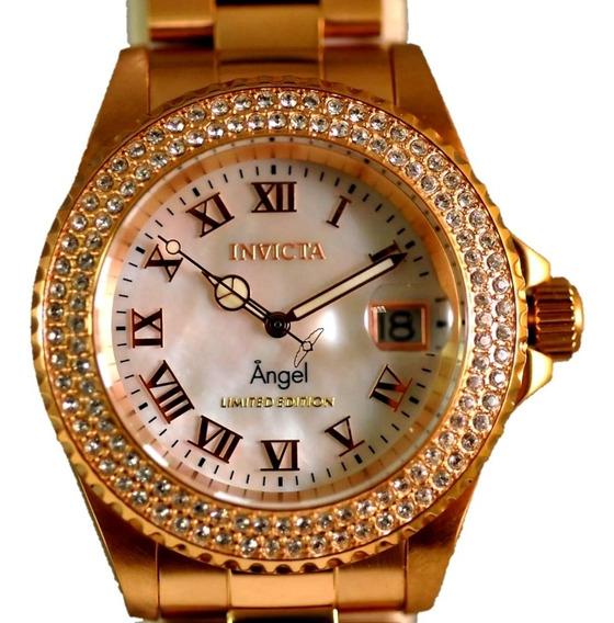 Relógio Invicta 21202 Original Rose Feminino