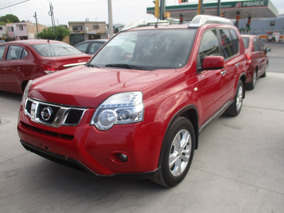 Nissan X-trail Advance 2 Row, 4 Cil, Aut, Color Rojo, 2014