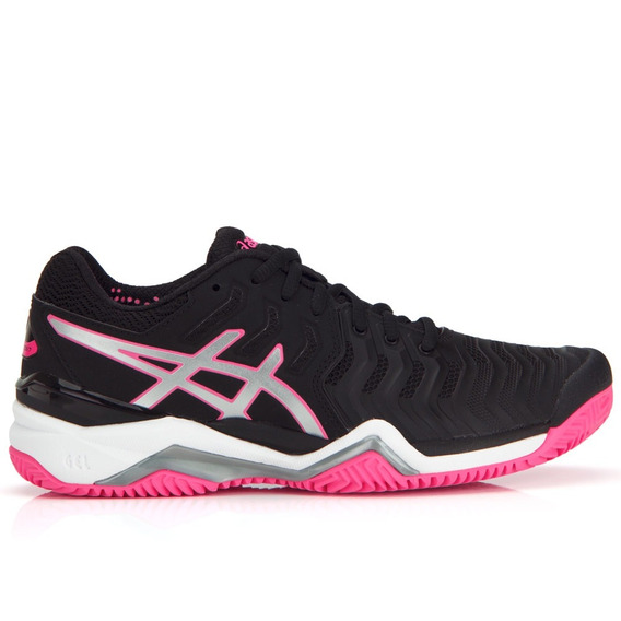 Tênis Asics Gel Resolution 7 Clay Feminino - Preto