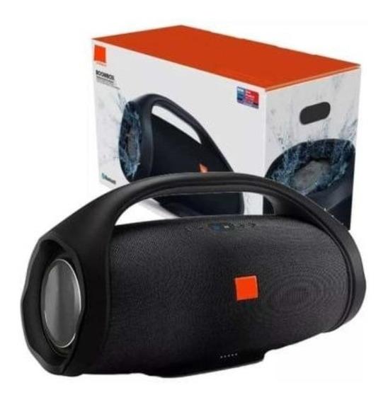 Caixa De Som Boombox Grande 31cm 50w Bluetooth