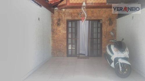 Sobrado Com 2 Dormitórios À Venda, 91 M² Por R$ 300.000,00 - Tupi - Praia Grande/sp - So0282