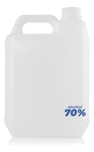 Bidón Alcohol Rectificado 5 Litros