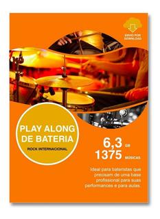 Play Alongs Para Bateria Com 1375 Áudios - Frete Grátis