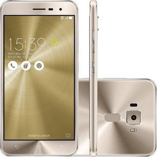 Asus Zenfone 3 Ze552kl 64/4gb 16mp Dual Dourado Mancha Tela