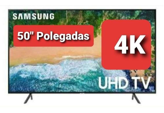 Smart Tv Samsung 4k 50 Polegadas Nu7100
