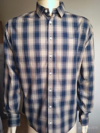 Camisa Manga Longa Colcci 100% Algodão
