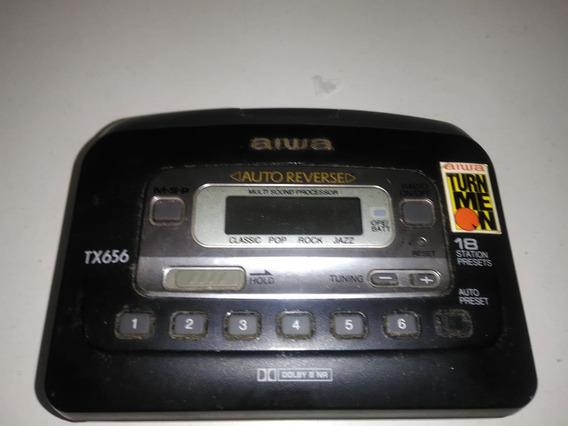 Walkman Aiwa Tx 656 Original