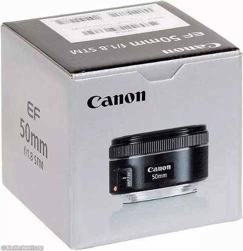 Lente Canon Ef 50mm F/1.8 Stm Lens