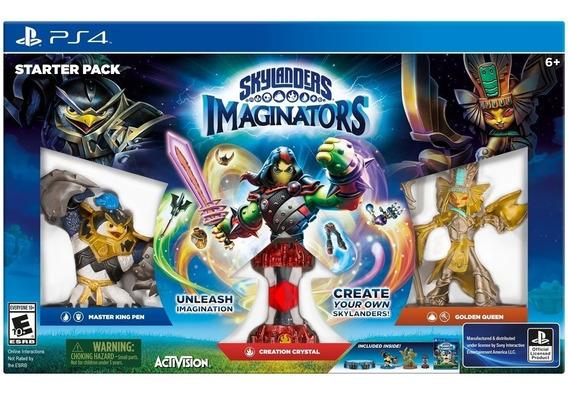 Skylanders Imaginators Starter Pack - Kit Inícial Para Ps4