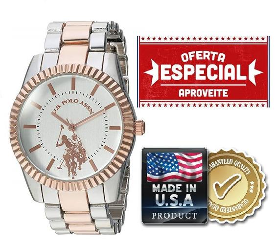 Relógio Feminino U.s Polo Assn. Original Usc40263