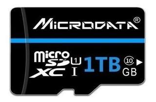 Cartão De Memória Micro Sd 1 Tb Classe 10 - Microdata
