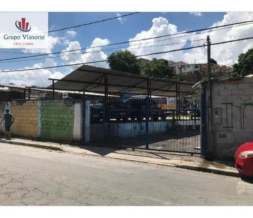 Terreno A Venda No Bairro Brasilândia Em São Paulo - Sp.  - 4375-1