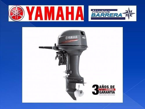 Motor Yamaha 40 Hp. Arranque Manual Oferta Contado