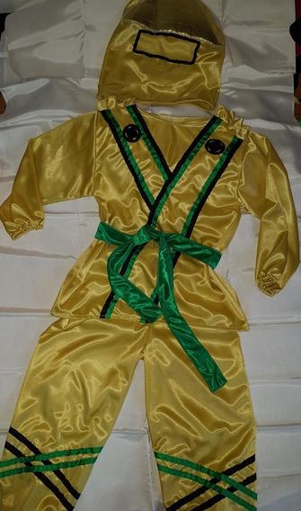 Disfraz De Ninjago Dorado