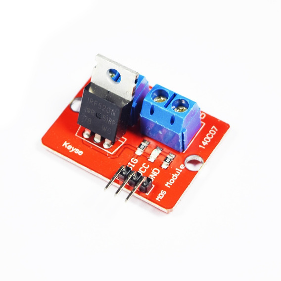 Llave Mos Fet Driver Irf520 Raspberry Arduino Pcbready A0060