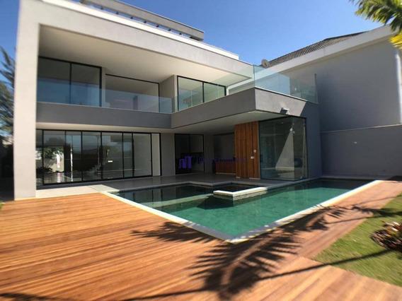 Casa Com 5 Dormitórios À Venda, 800 M² Por R$ 6.200.000 - Barra Da Tijuca - Del Lago - Ca0153