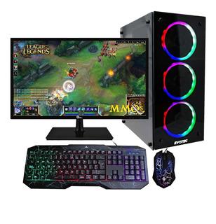 Pc Gamer Xtreme Barata Amd Fx Gaming 8gb 1tb Ddr4 Monitor Led 20 Pulg.