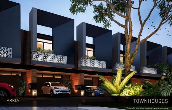 Town House En Zona De Facil Acceso A Toda La Ciudad