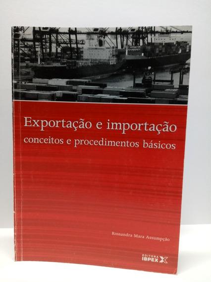 Livro: Exportação E Importação.