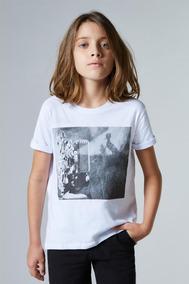 Camiseta Mini Pf Estampada Pelicula Reserva Mini