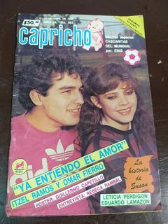 Omar Fierro E Itzel Ramos En Fotonovela Capricho