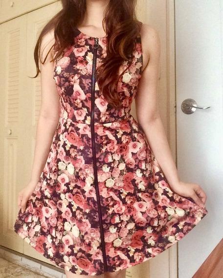Oferta Vestido De Flores Forever 21 Talla Xs