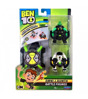 Reloj Ben 10 Omni-launch Battle Figures Lanza Figuras