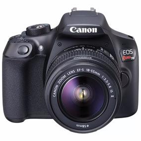 Câmera Canon Eos T6 + 18-55mm + Cartão 128 Gb