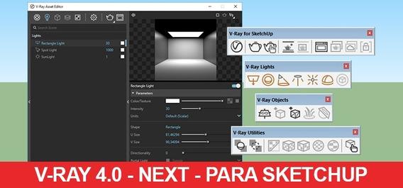 Vray 4.0 Next Para Sketchup 2019