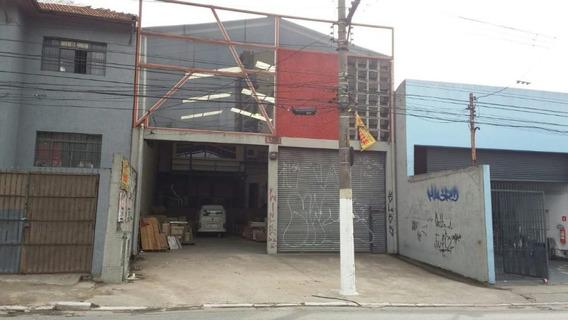 Galpão Comercial À Venda, Tatuapé, São Paulo. - Ga0428