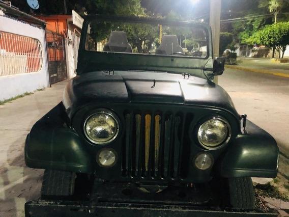 Jeep Wrangler 1981 Clasico