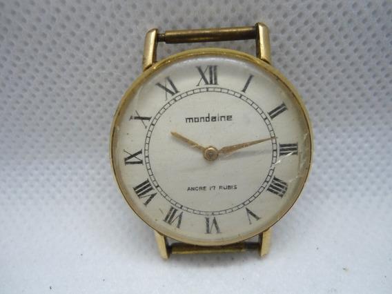 Relógio Mondaine A Corda Unissex Parado