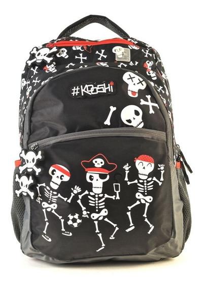 Mochila Kooshi Skeletors Piratas Espalda 17