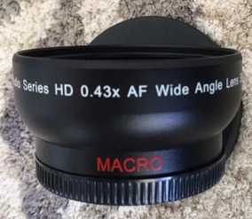Lente Ultimaxx Studio Series Hd 0,43x Af Wide Angle 52mm