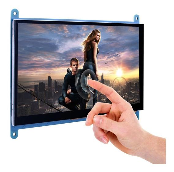 Raspberry Tela Lcd 7 Touch Pi2 Pi3 Capacitiva 1024x600