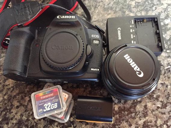 Canon 5d Mark Ii + Lente 85mm