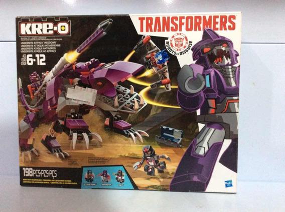 Transformers Kre-o Ataque Ao Jetpack 198 Pcs Ref B0950