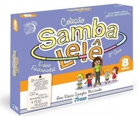 Coleção Samba Lelê 8 Anos Com Cd - Ensino Fundamental