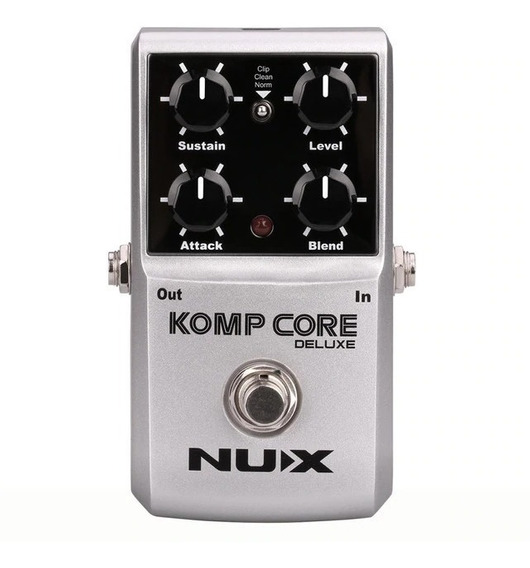 Pedal Nux Komp Core Deluxe - Compressor - Nf Grtia Deval