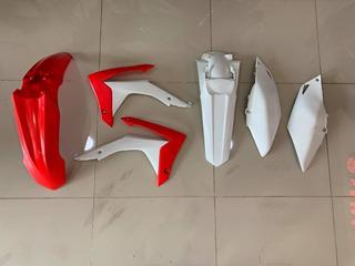 Kit Plasticos Ufo Honda Crf 250r Excelente Estado