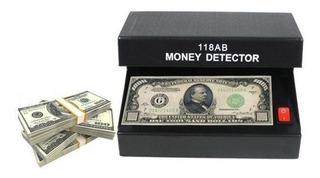 Maquina Detector De Billetes Falsos Oficina Escritorio 118ab