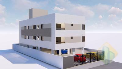 Lançamento! - Apartamento Com 3 Dormitórios À Venda, 69 M² Por R$ 253.024 - Bessa - João Pessoa/pb - Cod Ap0856 - Ap0856